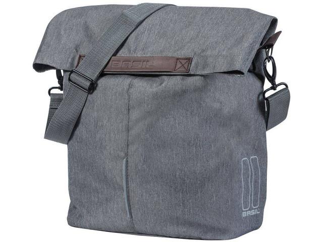 Basil City Bicycle Shopper Bag 14-16l, grijs